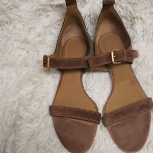 Chloe leather Sandals.